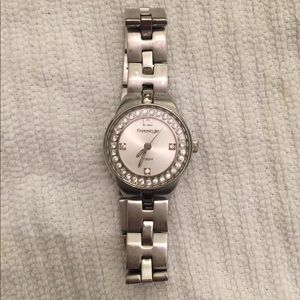 Freestyle rhinestone watch